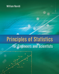 Principles of Statistics for Engineers and Scientists