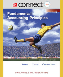 Connect Online Access for Fundamental Accounting Principles