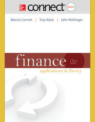 Connect Online Access to accompany Finance: Applications and Theory