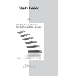 Study Guide to accompany Statistical Techniques in Business & Economics 15e