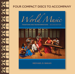 CD Set for World Music: Traditions and Transformations