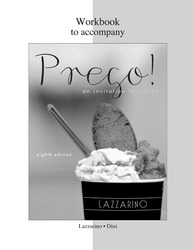 Workbook for Prego!