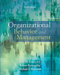 Premium Content Online Access for Organizational Behavior and Management