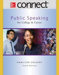 Connect Online Access for Public Speaking for College and Career