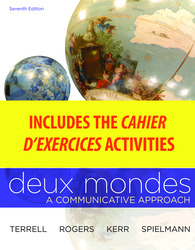 WBLM for Deux mondes (Cahier d'exercices)