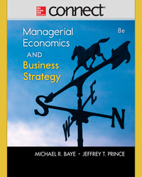 Connect 1-Semester Online Access for Managerial Economics