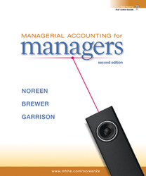 Premium Content Online Access for Managerial Accounting for Managers