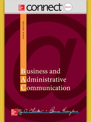 Connect 1-Semester Online Access for Business and Administrative Communication