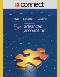 Connect 1-Semester Online Access for Fundamentals of Advanced Accounting
