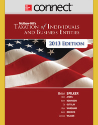 Connect 2-Semester Online Access for McGraw-Hill's Taxation of Individuals and Business Entities, 2013 Edition