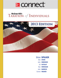 Connect 1-Semester Online Access for McGraw-Hill's Taxation of Individuals, 2013 Edition