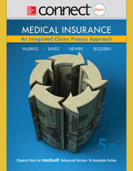 Connect 2-Semester Online Access for Medical Insurance: An Integrated Claims Process Approach