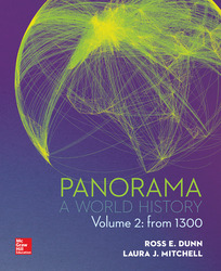Panorama: A World History Volume 2: From 1300