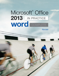 Microsoft Office Word 2013 Complete: In Practice