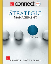 Connect (for Concepts Only) Online Access 1-Semester for Strategic Management