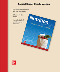 Loose Leaf for Nutrition Essentials: A Personal Approach