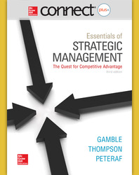Connect 1-Semester Online Access for Essentials of Strategic Management