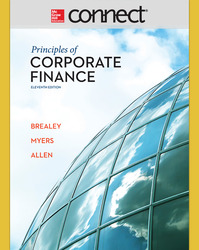 Connect 1-Semester Online Access for Principles of Corporate Finance
