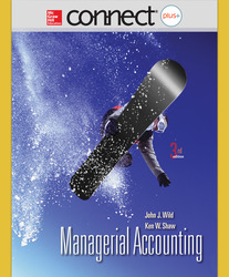 Connect 1-Semester Online Access for Managerial Accounting