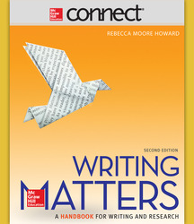 Connect Online Access for Writing Matters, Comprehensive
