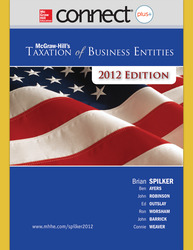 Connect Online Access for Taxation of Business Entities 2012 Edition