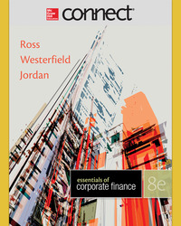 Connect 1-Semester Online Access for Essentials of Corporate Finance