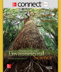 Connect Online Access for Principles of Environmental Science
