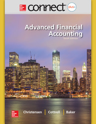 Connect 2-Semester Online Access for Advanced Financial Accounting
