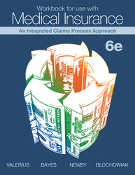 Workbook for use with Medical Insurance