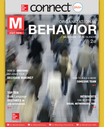 Connect Online Access for M: Organizational Behavior