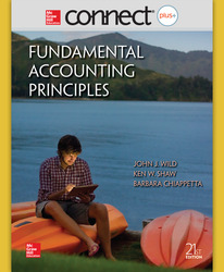 Connect 2-Semester Online Access for Fundamental Accounting Principles