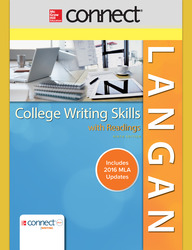 Connect Online Access for College Writing Skills with Readings