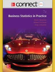 Connect Online Access Business Statistics Practice