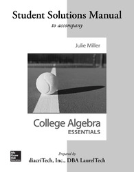 Students Solutions Manual for College Algebra Essentials