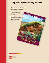 Loose Leaf Version for Beginning & Intermediate Algebra