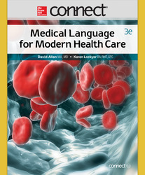 Connect 2-Semester Online Access for Medical Language for Modern Health Care