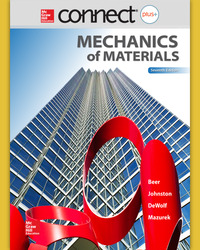 Connect 1-Semester Online Access for Mechanics of Materials