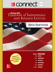 Connect 2-Semester Online Access for McGraw-Hill's Taxation of Individuals and Business Entities, 2014 Edition