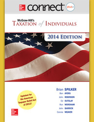 Connect 1-Semester Online Access for McGraw-Hill's Taxation of Individuals, 2014 Edition
