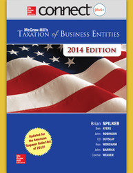 Connect 1-Semester Online Access for McGraw-Hill's Taxation of Business Entities, 2014 Edition