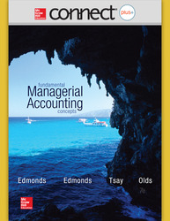 Connect 1-Semester Online Access for Fundamental Managerial Accounting Concepts