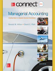 Connect 1-Semester Online Access for  Managerial Accounting: Creating Value in a Dynamic Business Environment