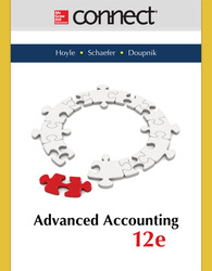 Connect 1-Semester Online Access for Advanced Accounting