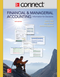 Connect 2 Semester Online Access for Financial and Managerial Accounting