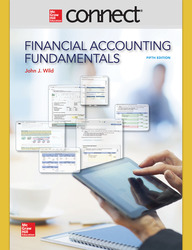 Connect 1 Semester Online Access for Financial Accounting Fundamentals