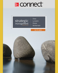Connect 1-Semester Online Access for Dess, Strategic Management, 6e