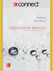Connect 1-Semester Online Access for Organizational Behavior