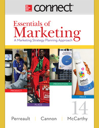 Connect 1-Semester Online Access for Essentials of Marketing