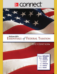 Connect 1-Semester Online Access for McGraw-Hill's Essentials of Federal Taxation, 2013 Edition