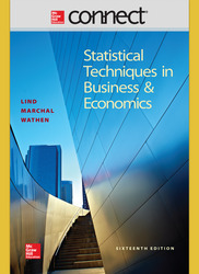 Connect Online Access for Statistical Techniques in Business and Economics